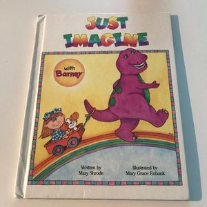 Just Imagine With Barney Book
